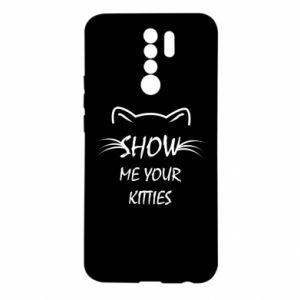 Etui na Xiaomi Redmi 9 Show me your kitties