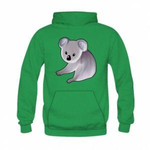 Bluza z kapturem dziecięca Shy koala