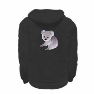 Bluza na zamek dziecięca Shy koala
