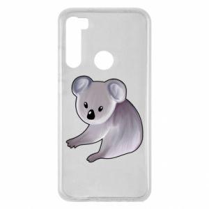 Etui na Xiaomi Redmi Note 8 Shy koala