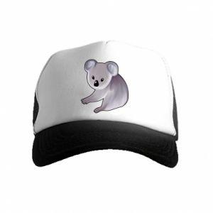Czapka trucker dziecięca Shy koala