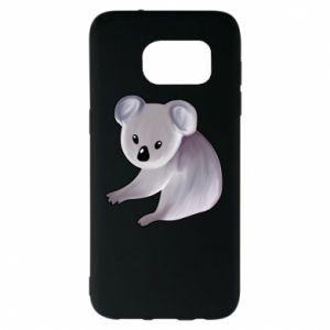 Etui na Samsung S7 EDGE Shy koala