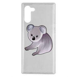 Etui na Samsung Note 10 Shy koala