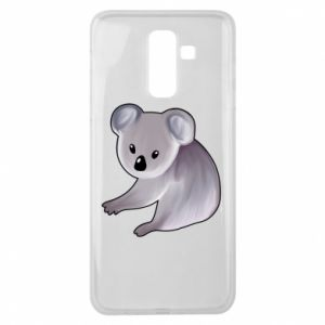 Etui na Samsung J8 2018 Shy koala