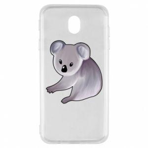Etui na Samsung J7 2017 Shy koala