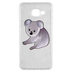 Etui na Samsung A3 2016 Shy koala