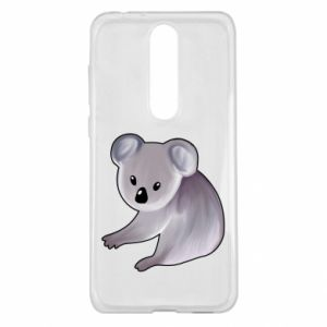 Etui na Nokia 5.1 Plus Shy koala