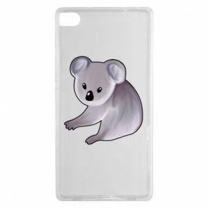 Etui na Huawei P8 Shy koala