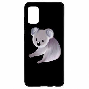 Etui na Samsung A41 Shy koala