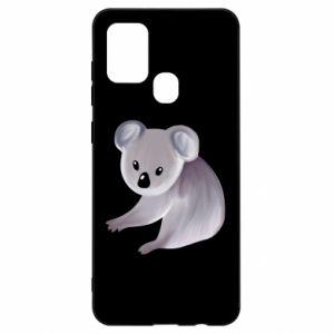 Etui na Samsung A21s Shy koala