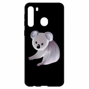 Etui na Samsung A21 Shy koala