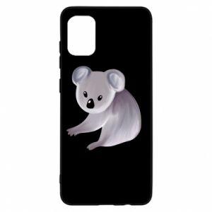 Etui na Samsung A31 Shy koala