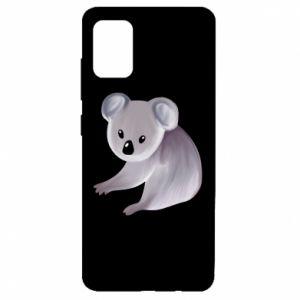Etui na Samsung A51 Shy koala