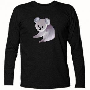 Koszulka z długim rękawem Shy koala - PrintSalon