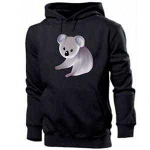 Bluza z kapturem męska Shy koala