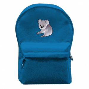 Backpack with front pocket Shy koala