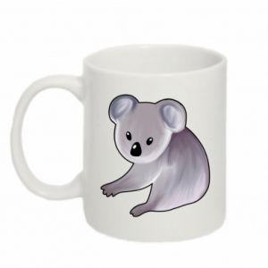 Kubek 330ml Shy koala - PrintSalon