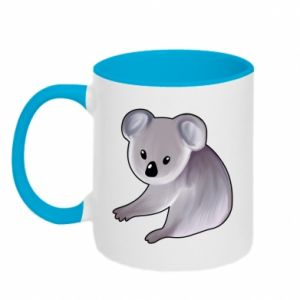 Kubek dwukolorowy Shy koala - PrintSalon