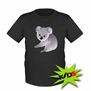 Kids T-shirt Shy koala