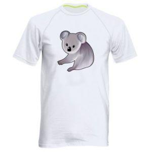 Koszulka sportowa męska Shy koala