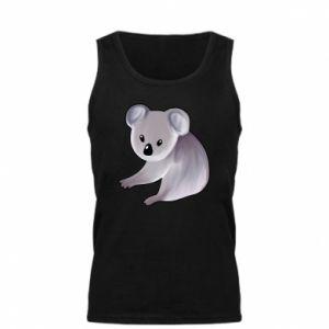 Męska koszulka Shy koala - PrintSalon