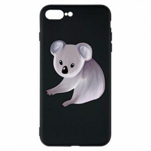 Etui na iPhone 7 Plus Shy koala - PrintSalon
