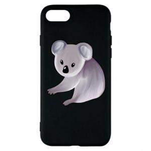 Etui na iPhone 8 Shy koala - PrintSalon