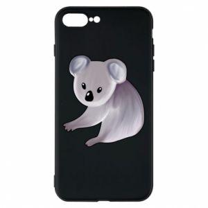 Etui na iPhone 8 Plus Shy koala - PrintSalon