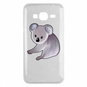 Etui na Samsung J3 2016 Shy koala