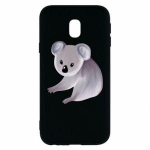 Etui na Samsung J3 2017 Shy koala