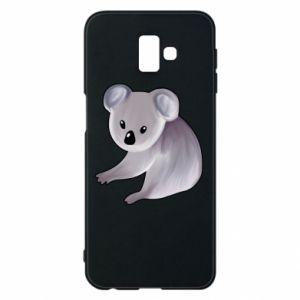 Etui na Samsung J6 Plus 2018 Shy koala