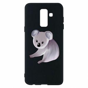 Etui na Samsung A6+ 2018 Shy koala