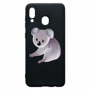 Etui na Samsung A20 Shy koala - PrintSalon
