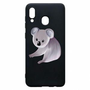 Etui na Samsung A30 Shy koala - PrintSalon