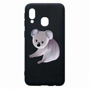 Etui na Samsung A40 Shy koala