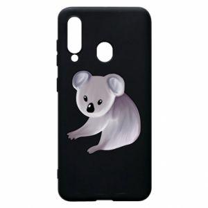 Etui na Samsung A60 Shy koala - PrintSalon