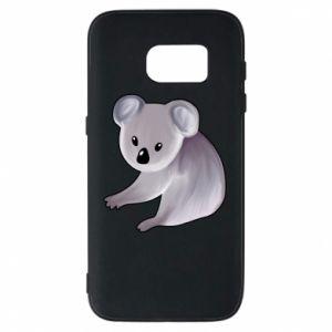 Etui na Samsung S7 Shy koala - PrintSalon