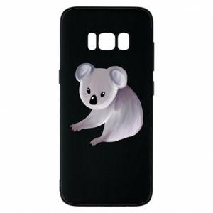 Etui na Samsung S8 Shy koala - PrintSalon