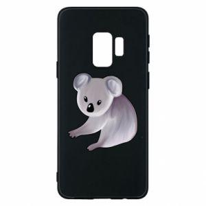 Etui na Samsung S9 Shy koala - PrintSalon