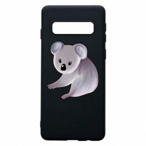 Etui na Samsung S10 Shy koala - PrintSalon