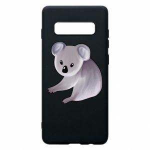 Etui na Samsung S10+ Shy koala