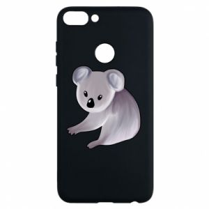 Etui na Huawei P Smart Shy koala - PrintSalon