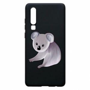 Etui na Huawei P30 Shy koala - PrintSalon