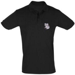 Koszulka Polo Shy koala - PrintSalon