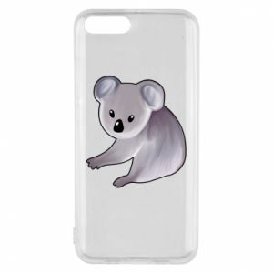 Etui na Xiaomi Mi6 Shy koala - PrintSalon
