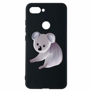 Etui na Xiaomi Mi8 Lite Shy koala - PrintSalon