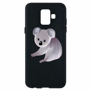 Etui na Samsung A6 2018 Shy koala - PrintSalon