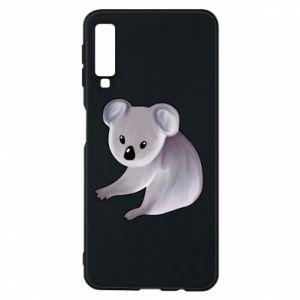Etui na Samsung A7 2018 Shy koala - PrintSalon