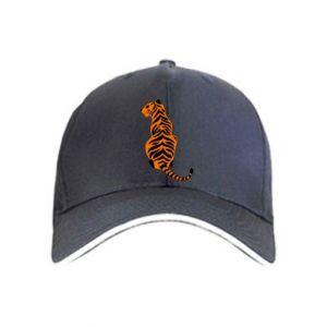Czapka Siedzi tygrys