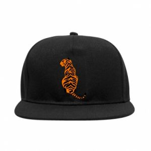SnapBack Tiger sitting